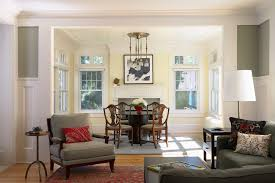 warm paint colors for living room dining room traditional with