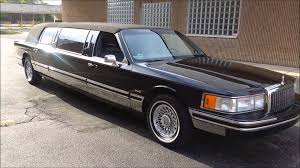 limousines for sale 1993 lincoln limousine for sale