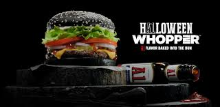 halloween horror nights 2015 times burger king sells black colored whopper in time for halloween