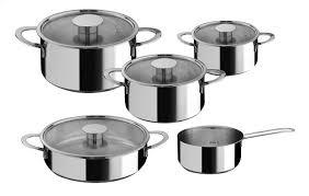 baterie de cuisine mepra batterie de cuisine 5 pièces gourmet collishop