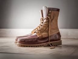 timberland handsewn shoes