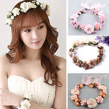 floral headdress flower headdress ebay