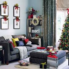 Home Accents Christmas Decorations by Home Decoration Red Accent In White Christmas Decoration