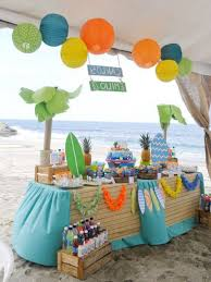 decorations 5 surfin birthday these year will