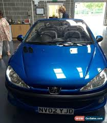 blue peugeot for sale 2002 peugeot 206 cc for sale in united kingdom