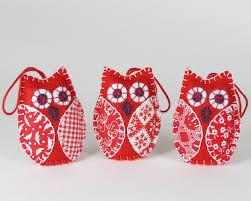 owl christmas ornaments bird christmas ornaments handmade