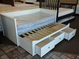 hemnes daybed hack bedding terrific brimnes daybed frame with 2 drawers ikea trundle