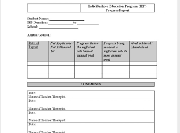 elementary progress report template progress report form weekly format sle daily for building