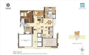 floor plans 3000 sq ft 3 bhk 3000 sq ft apartment for sale in vascon windermere at rs
