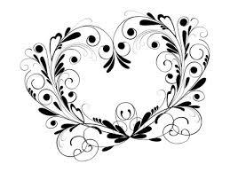 template undangan keren 40 floral ornament format cdr gratis album kolase wedding
