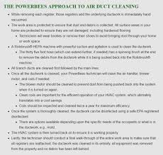 boston ma air duct cleaning powerbees