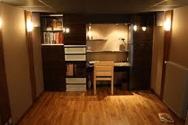 placard bureau ikea bureau dans placard amnagement duun bureau placard de rangement