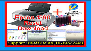 reset epson 1390 printer how to reset epson 1390 youtube