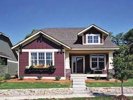 craftsman style single story house plans usually include a wide