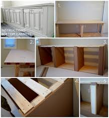 how to build bottom cabinets diy built in office cabinet glam living