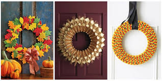 fall wreaths 20 diy fall wreaths easy ideas for autumn wreaths