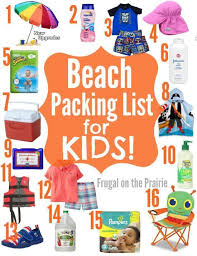 10 Essentials For A Kid by Packing List For Packing Lists And