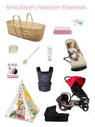 newborn essentials my 12 favorite newborn essentials emilystyle