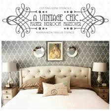 wall stencils for bedrooms stenciled master bedroom archives stencil stories stencil stories