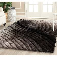 Plush Area Rugs Safavieh Handmade 3d Shag Silver Ombre Area Rug 8 X 10 Free