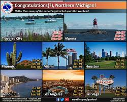 Michigan travel weather images Incredible facts on michigan 39 s heat wave jpg