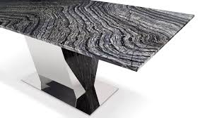 grey marble dining table malbec black and grey marble dining table with polished stainless