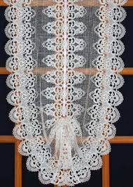 European Lace Curtains Macrame Lace Curtains