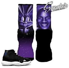 jordan space jams jordan 11 space jam elite socks match retro 11 space jams