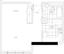 delta properties bunyan tower bunyan tower studio type sb floor plan