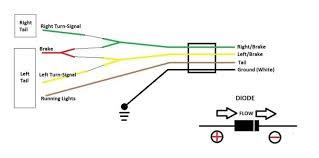 trailer wiring diagram 4 pin flat