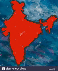 Calcutta India Map by India Map India Asia Stock Photo Royalty Free Image 90369396