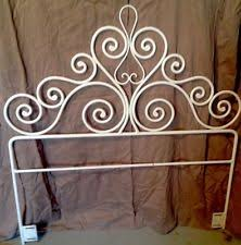 Rod Iron Headboard Wrought Iron Bed Headboards Ebay