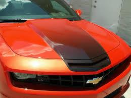 2014 orange camaro 2010 2014 camaro fade decal car craft