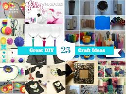 here are 25 easy handmade home craft ideas part 1