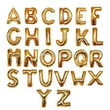 gold letter balloons wholesale toys foil letter balloons 40 inch gold silver