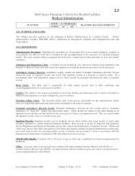 Clerical Resume Template Enchanting Medical Records Clerk Resume 4 Medical Records Clerk