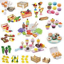 spielküche zubehör holz kaufladen lebensmittel für kleinkinder ebay