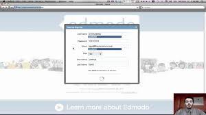 edmodo teacher create an edmodo teacher account youtube