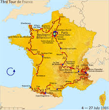 Carcassonne France Map file route of the 1986 tour de france png wikimedia commons