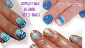 easy nail art for toes beach toe nail art images nail art and nail design