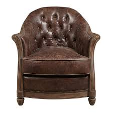 Tufted Accent Chair Leather Tufted Accent Chair Free Shipping Today Overstock