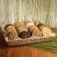 cookie gift baskets sustainably sweet cookie gift basket pacific cookie company