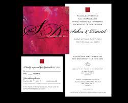 Custom Invitations Online Wedding Invitations Canada Online Casadebormela Com