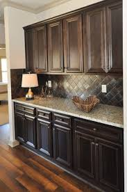 Kitchen Floor Cabinets Best 25 Dark Kitchen Cabinets Ideas On Pinterest Dark Cabinets