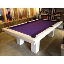 purple felt pool table white pool table more views white pool table with purple felt