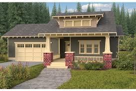 eplans bungalow house plan craftsman single story open floor