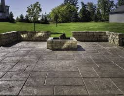 Concrete Ideas For Backyard 24 Amazing Stamped Concrete Patio Design Ideas Remodeling Expense