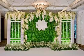 wedding backdrop design luxury indoors wedding backdrop decoration stock image image of