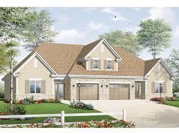 Duplex With Garage Plans Plan 027m 0035 Find Unique House Plans Home Plans And Floor