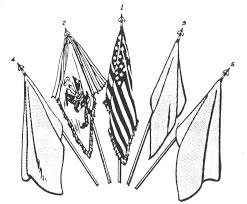 How Many Streamers Are On The Army Flag Army Regulations 840 10